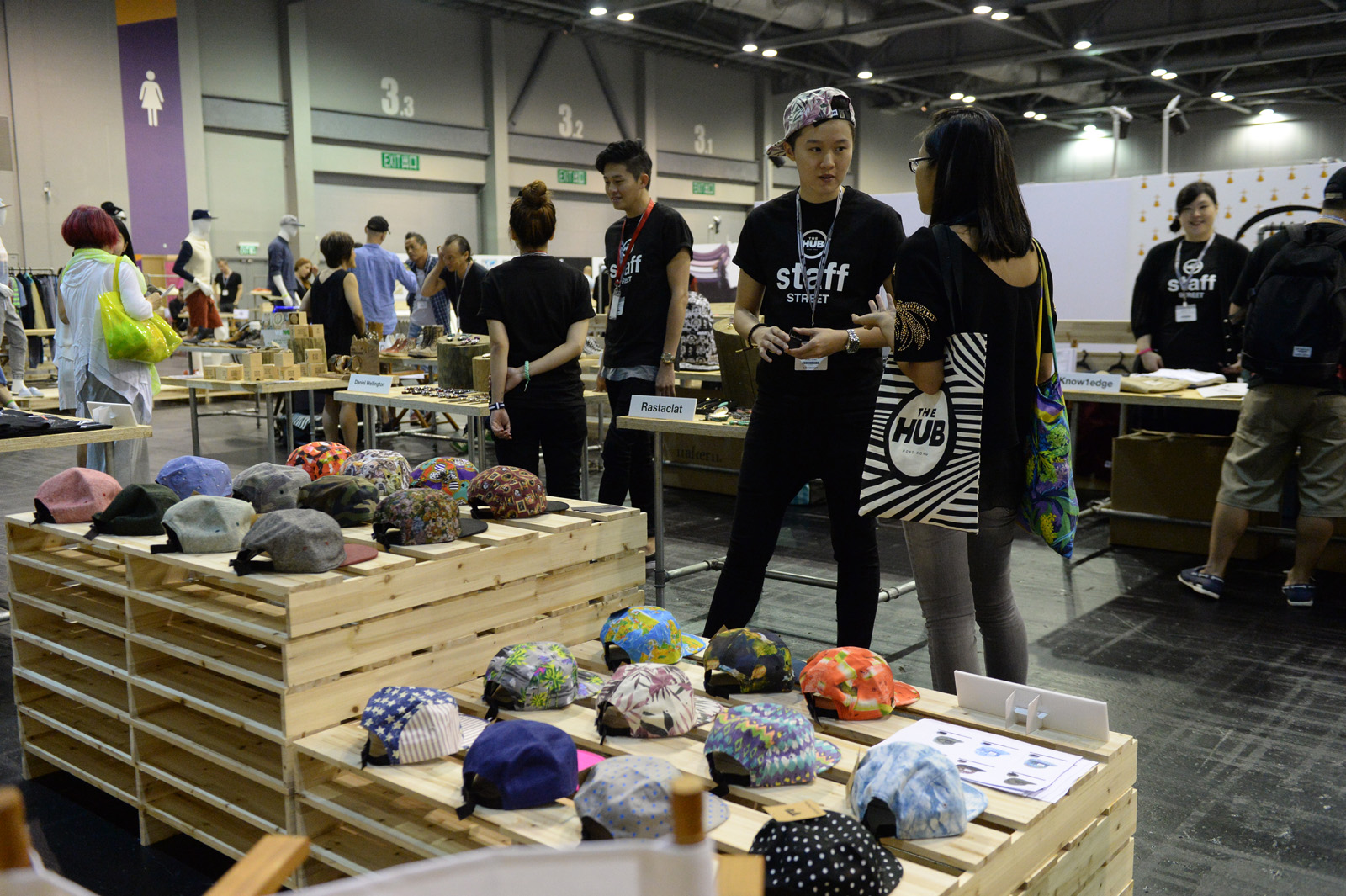 Pic 2c - The HUB is showcasing over 100 brands from around the world and linking them with over 3,000 of Asia's leading buyers and retailers who will be in attendance.JPG