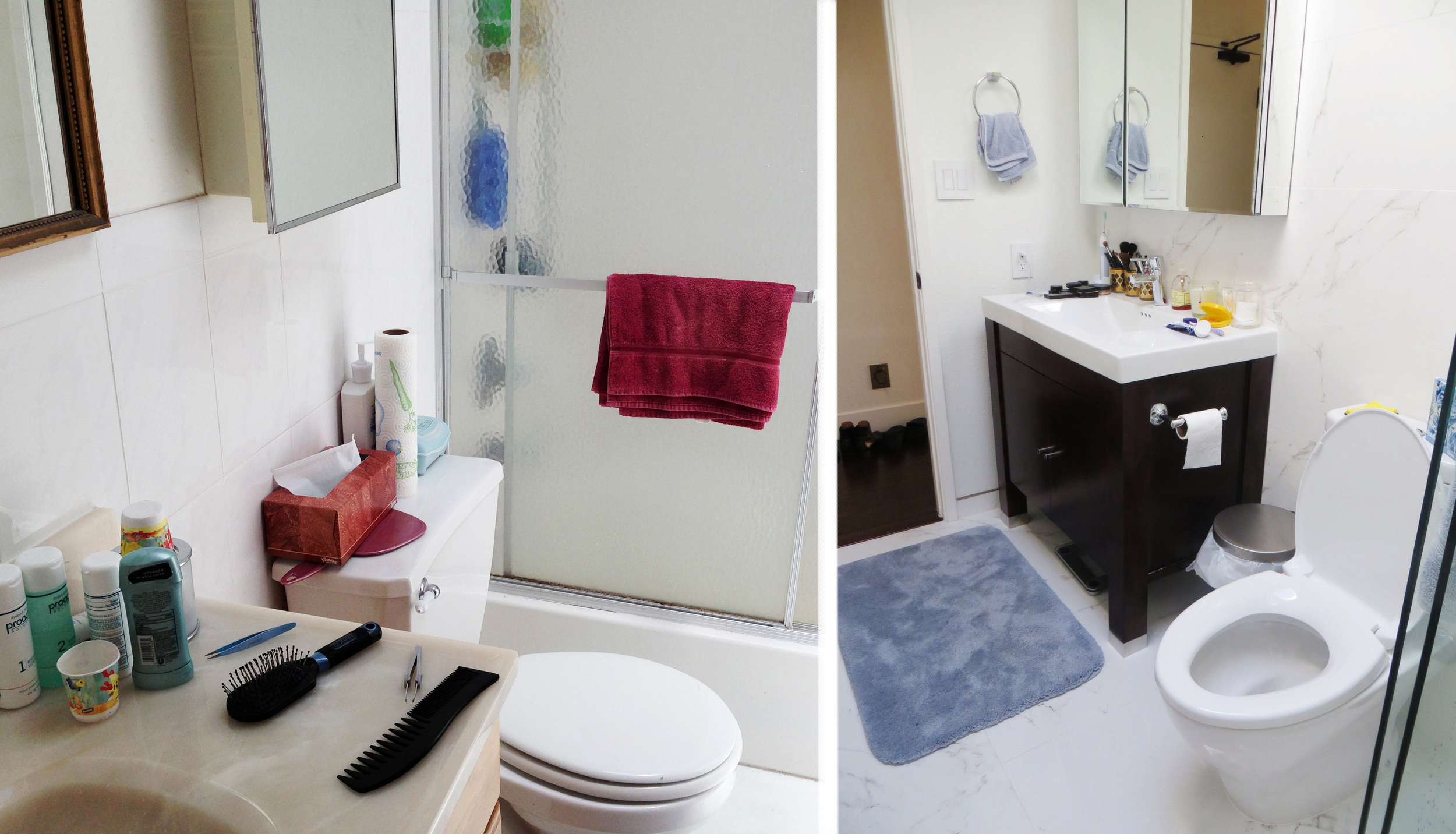 Before and After: The Bathroom