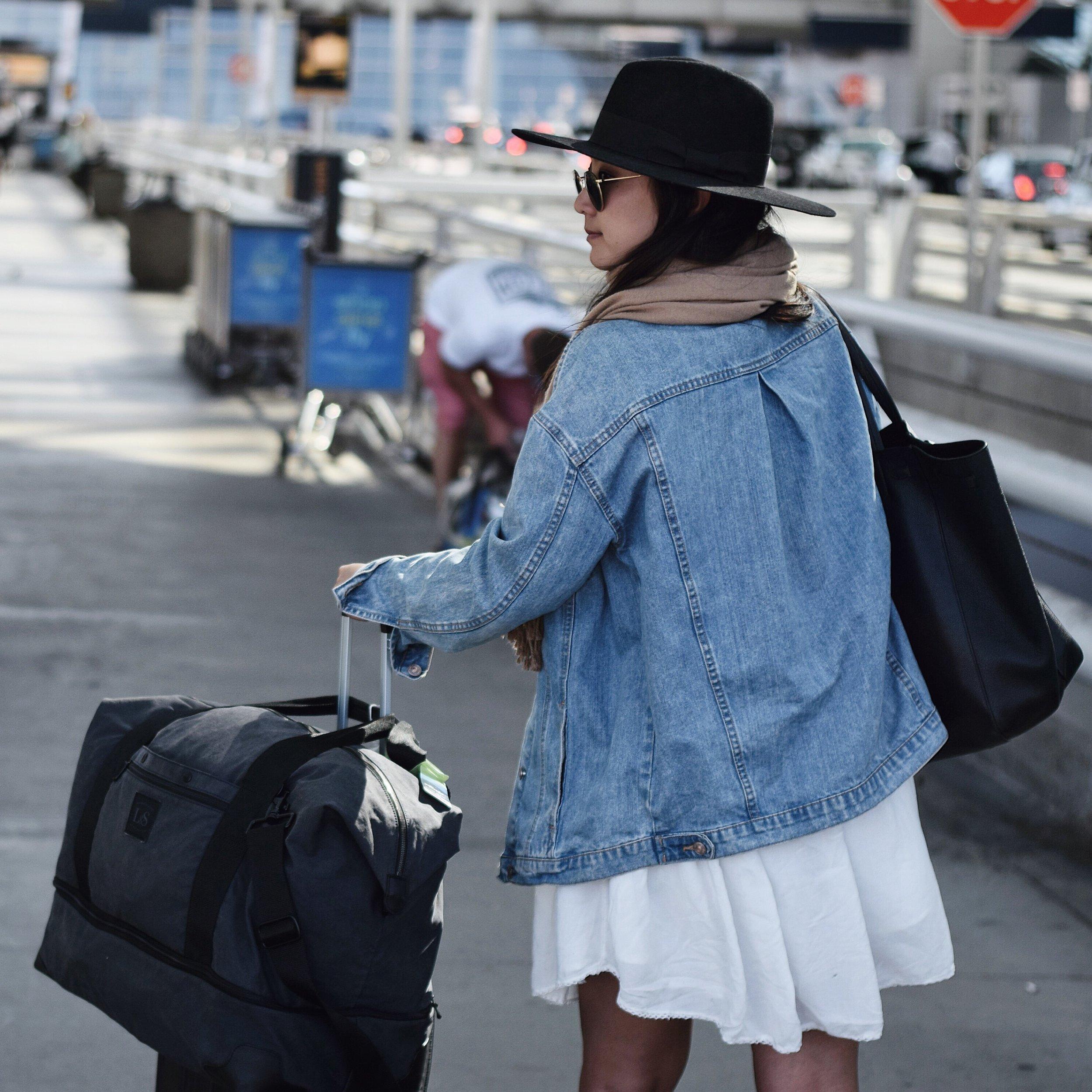LO & SONS   the Rhodes   duffel weekender bag