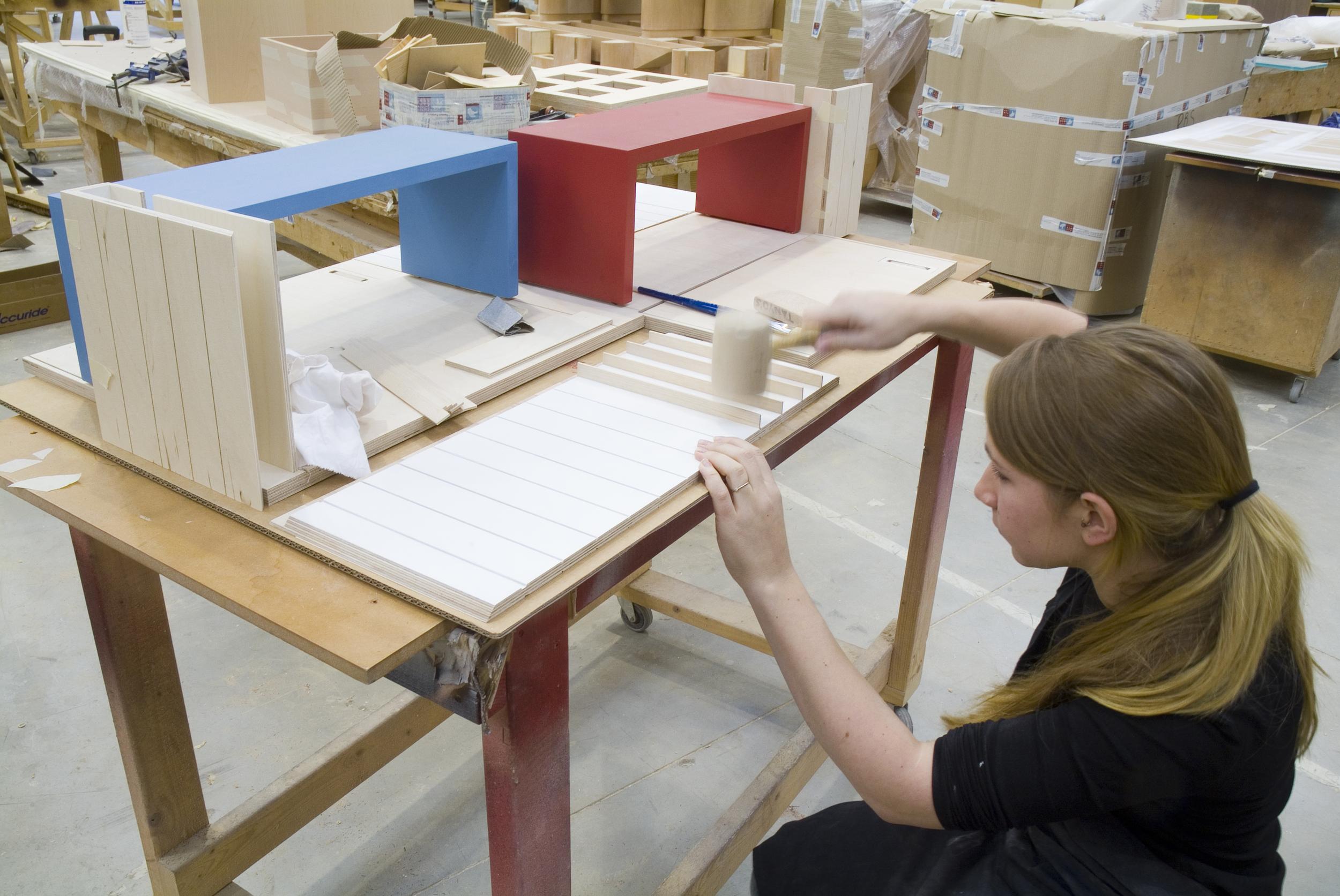 Building the model at BDF