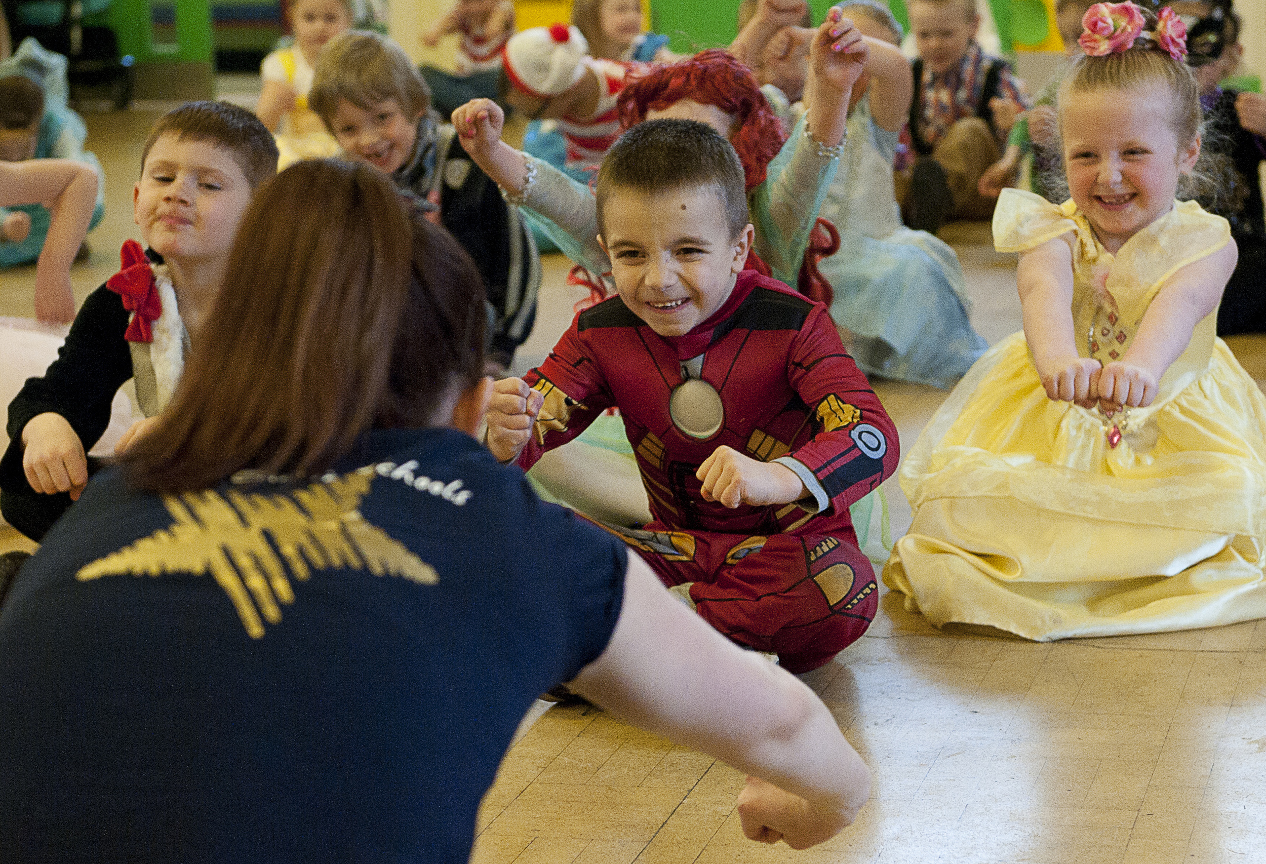 Bringing Books to Life Dance Workshop in an Infant School on World Book Day 2013