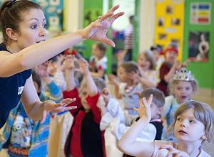 Primary school dance workshop