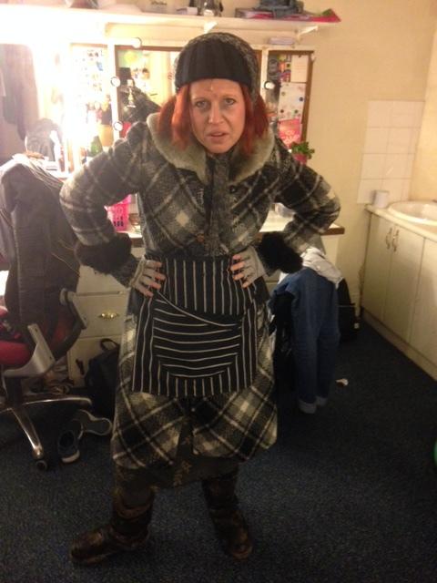 Helen as Mrs Pratchett