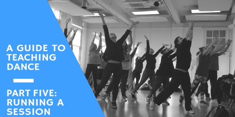 Guide to Teaching Dance - Running a Session