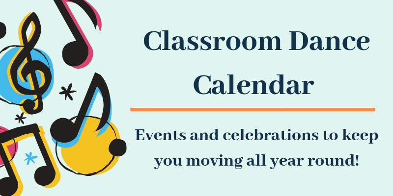 Primary School Dance Calendar