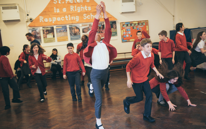 Drama workshops primary schools