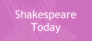 Your school performs a Shakespeare play in a day