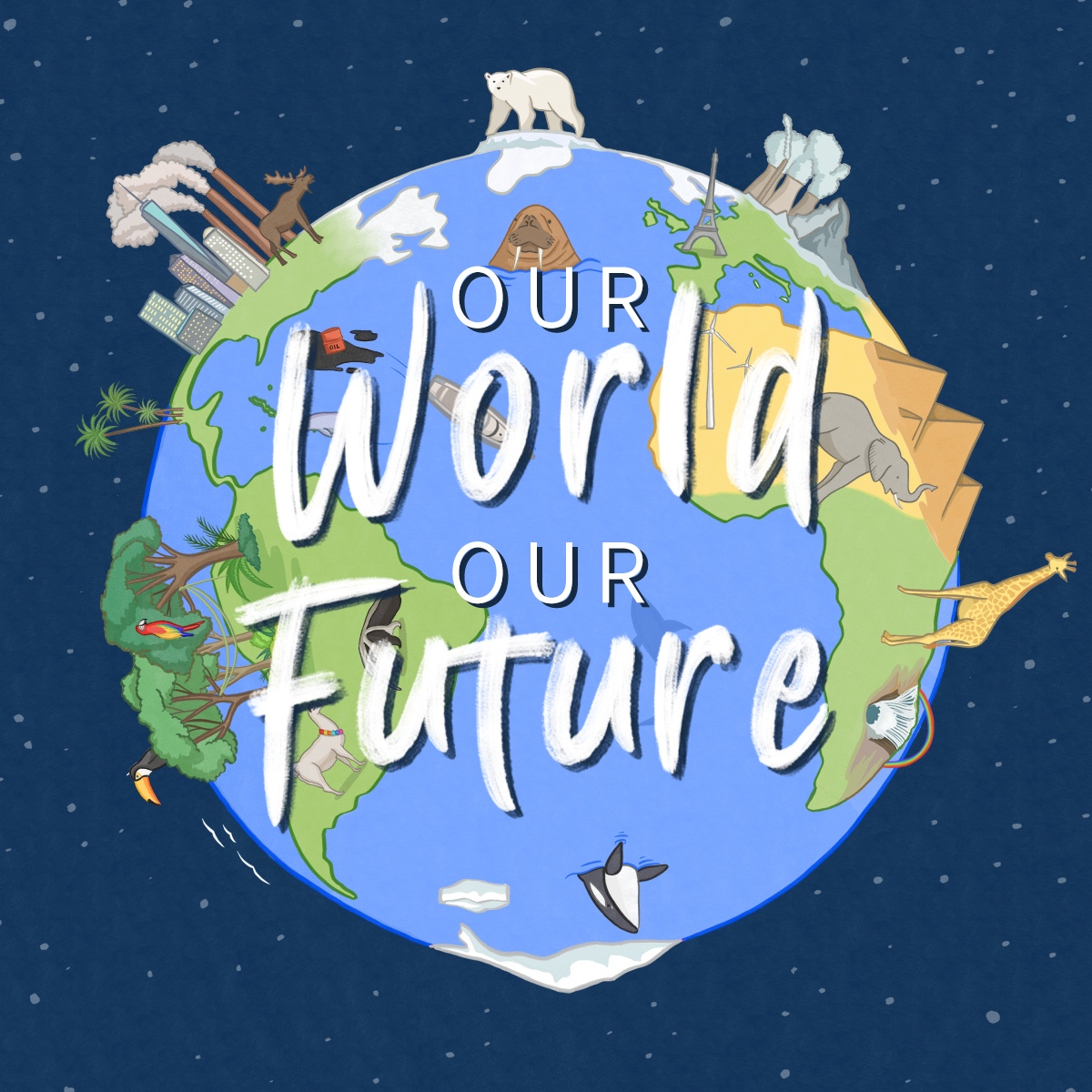Our World, Our Future - The climate change whole school drama workshop