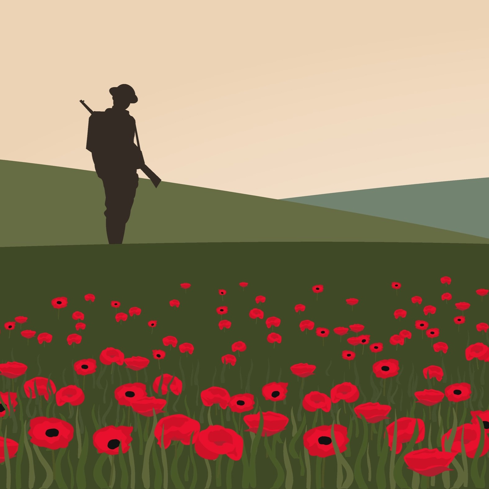 Poetry and Poppies - The World War One whole school drama workshop