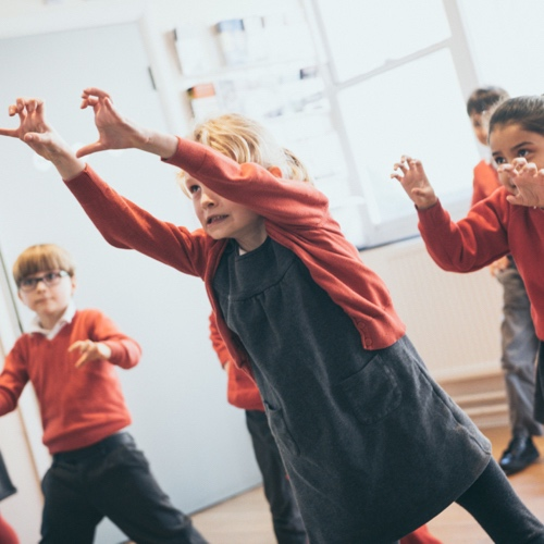 Story Explorer - drama workshops inspired by children's books