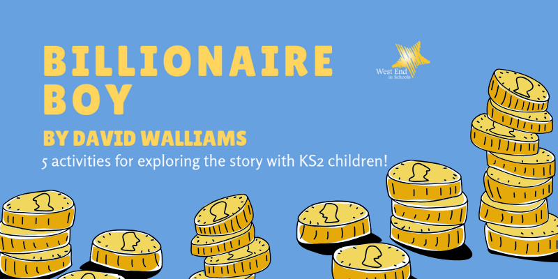 Billionaire Boy Book Activities