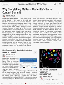 Considered Content Marketing on Flipboard.