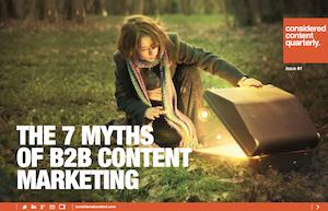 7 Myths of B2B Content Marketing ebook