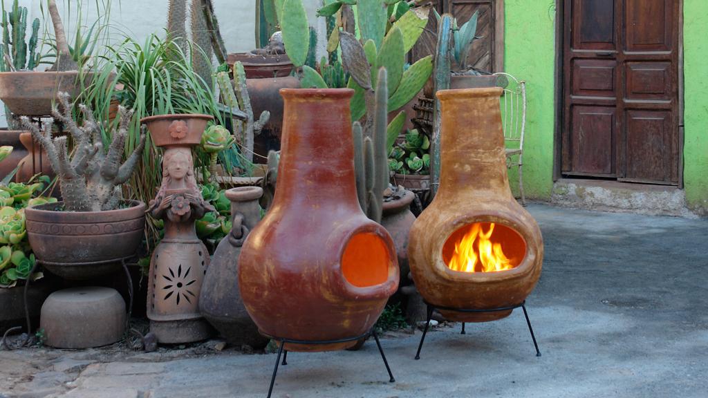 Klassische Aztekenofen