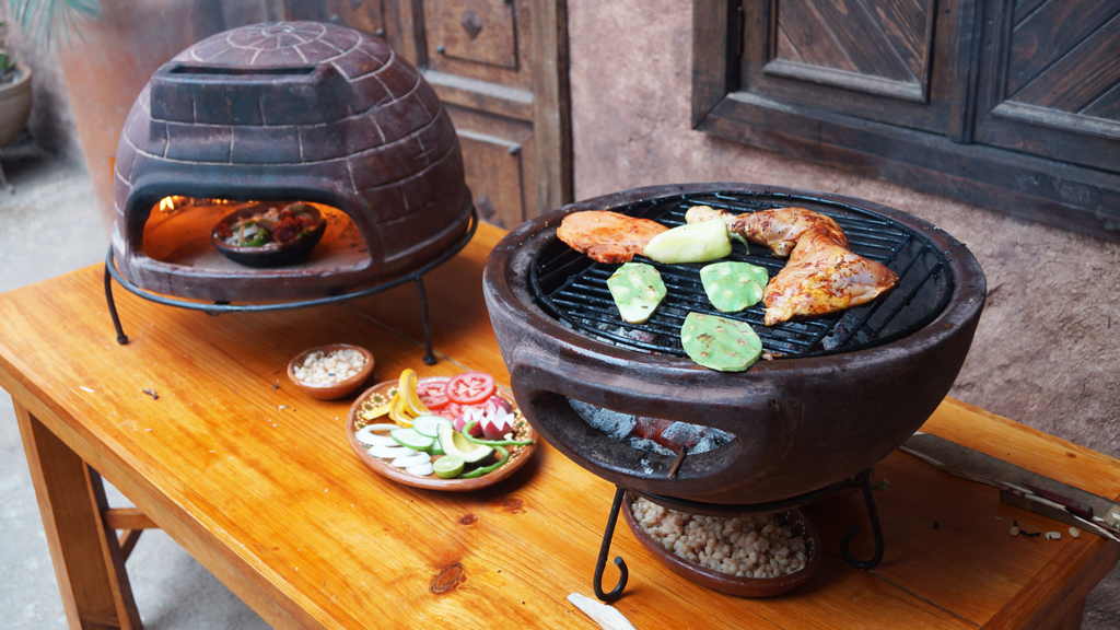 Pizza Oven & Table BBQ