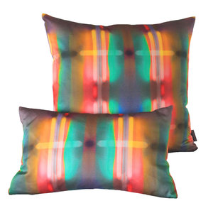 Neon Lights  - Digitally printed pattern creating a distinct combination, of colour and fluorescent form.