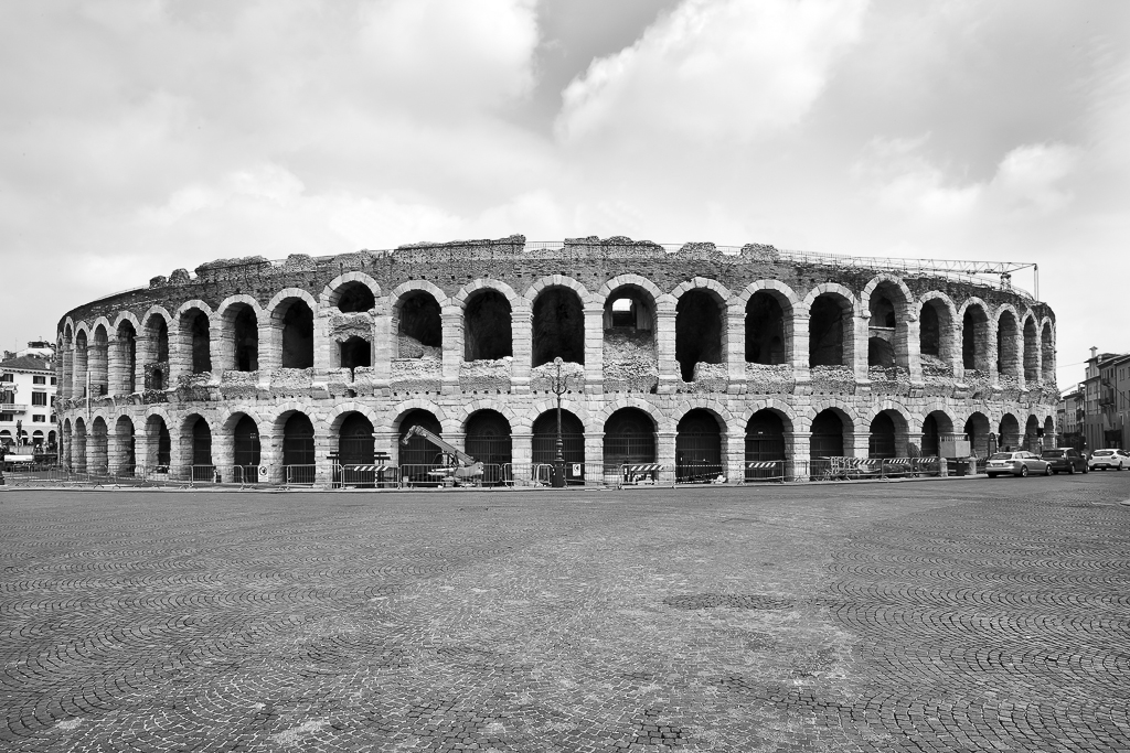 © Gian Giacomo Stiffoni, all rights reserved.  Verona. Arena