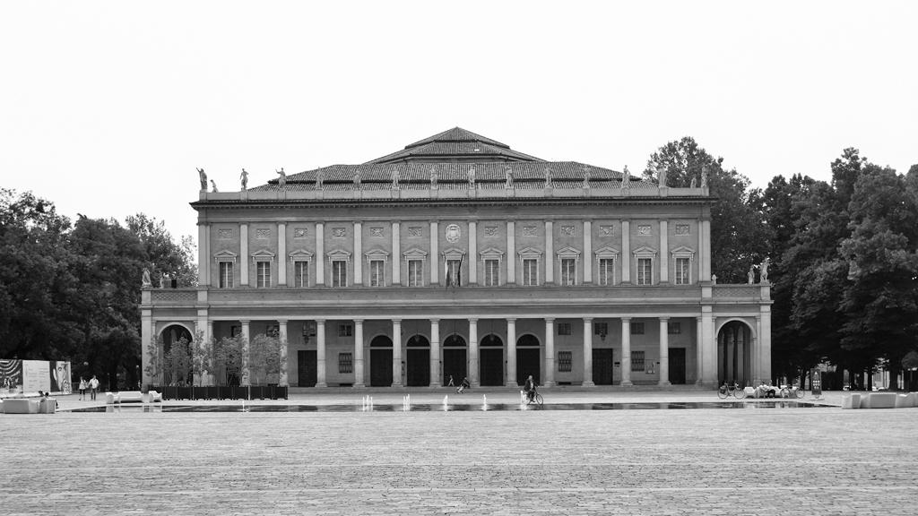 © Gian Giacomo Stiffoni, all rights reserved.  Reggio Emilia. Teatro Municipale Romolo Valli
