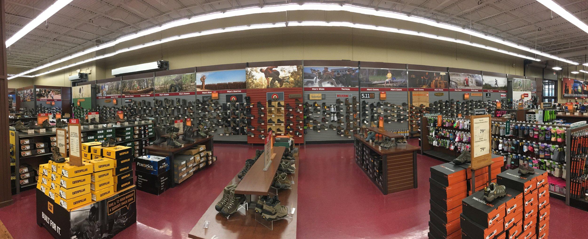 Footwear Department
