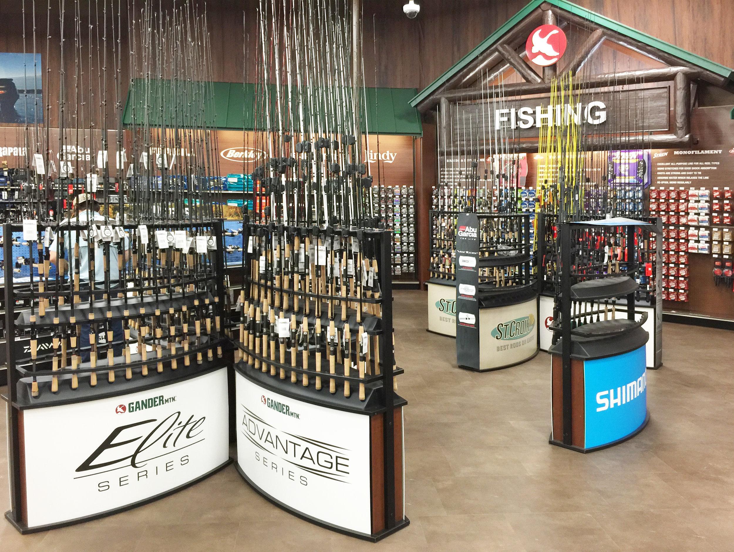 Fishing Department - Merchandiser Detail