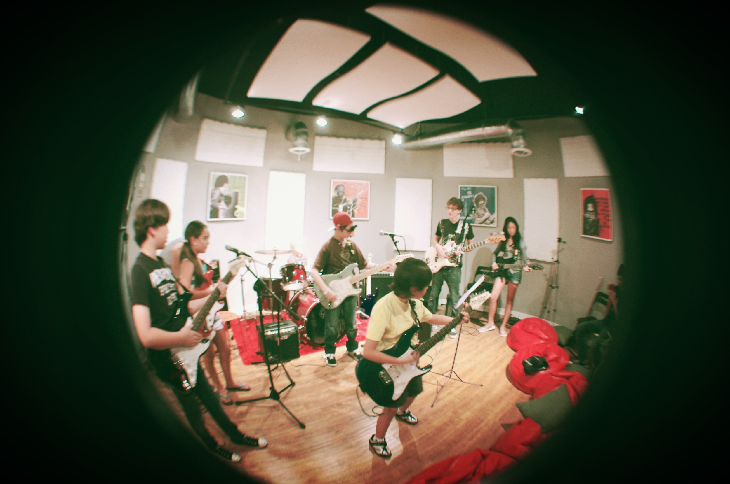 Throwback to 2011 Summer Camp Show at Live!'s studio.