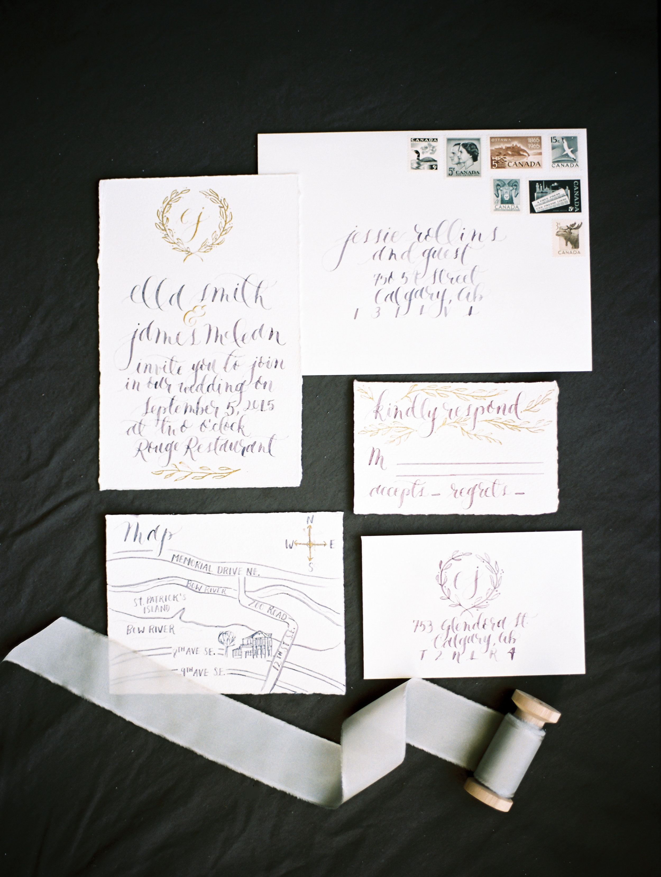 Art & Alexander Calligraphy and Stationery