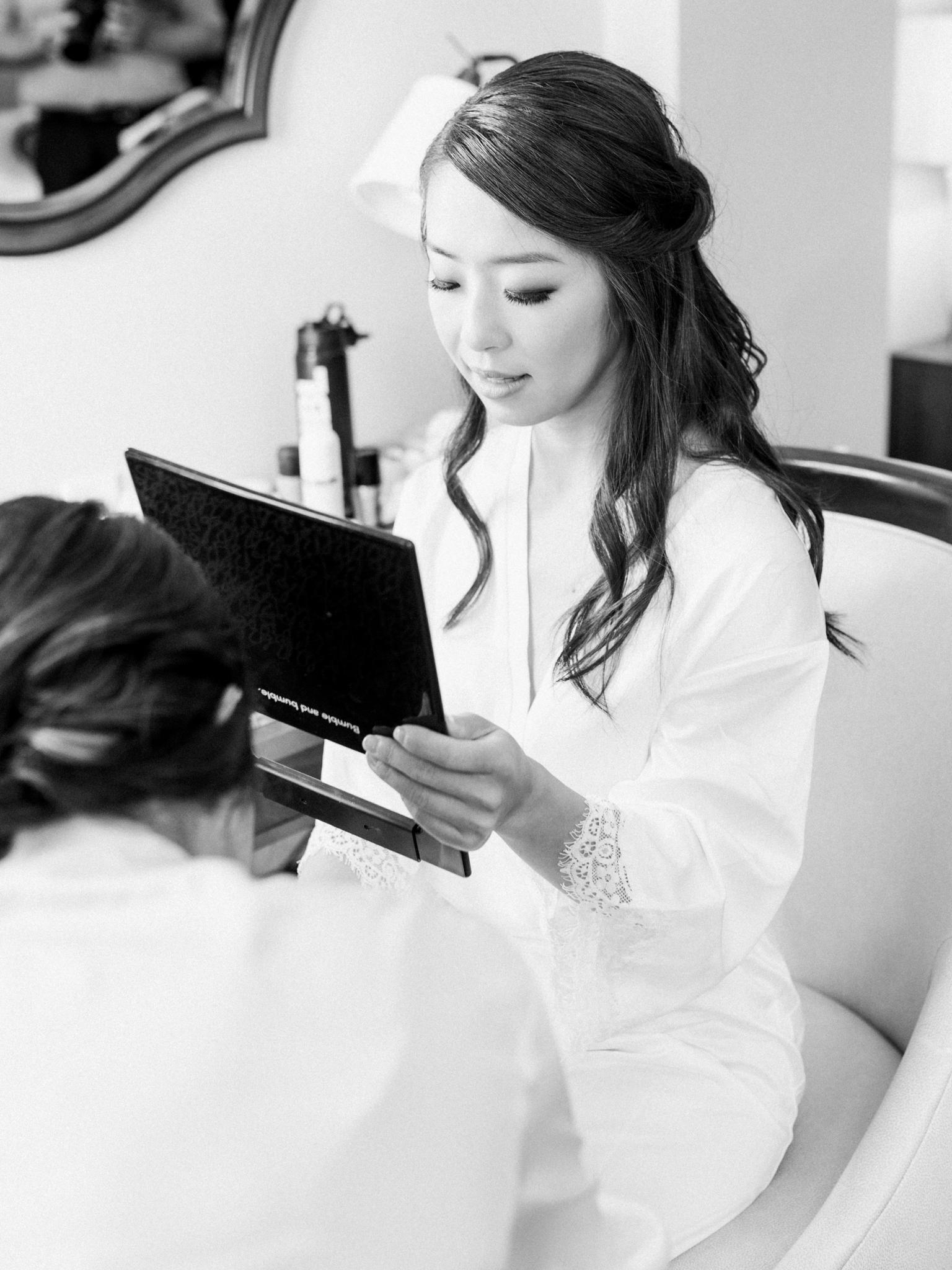 Topknot Brides Hair + Makeup