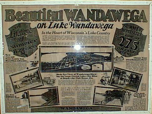 Original sales materials from 1920s