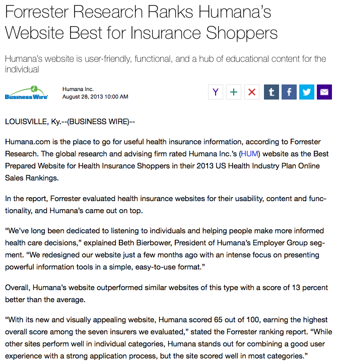 Humana press release on Yahoo.png