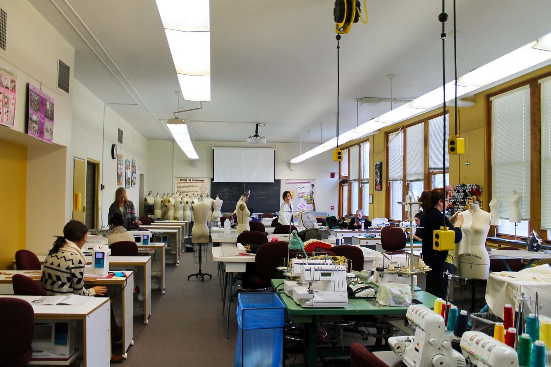 Sewing lab... we meet again.