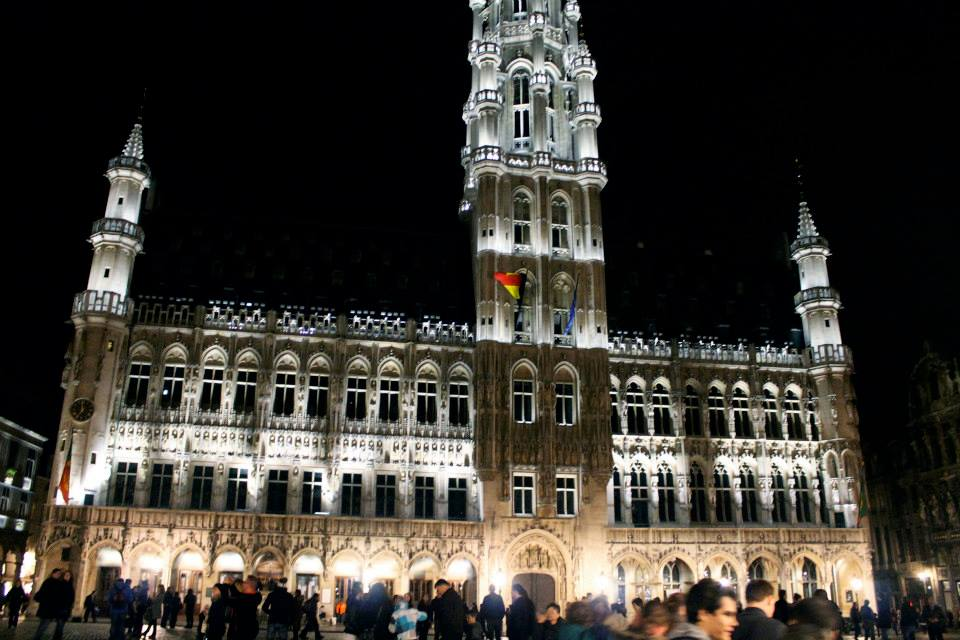 Brussels by night.