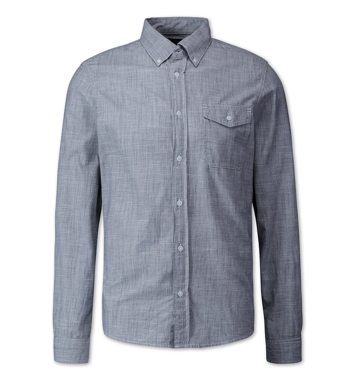 Technically chambray slub... but you get the idea.