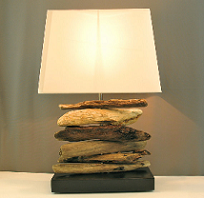 Drift wood lamps