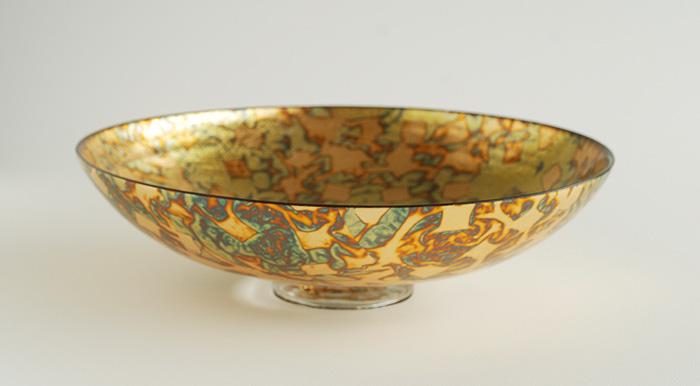 Metallic Leaf Bowls
