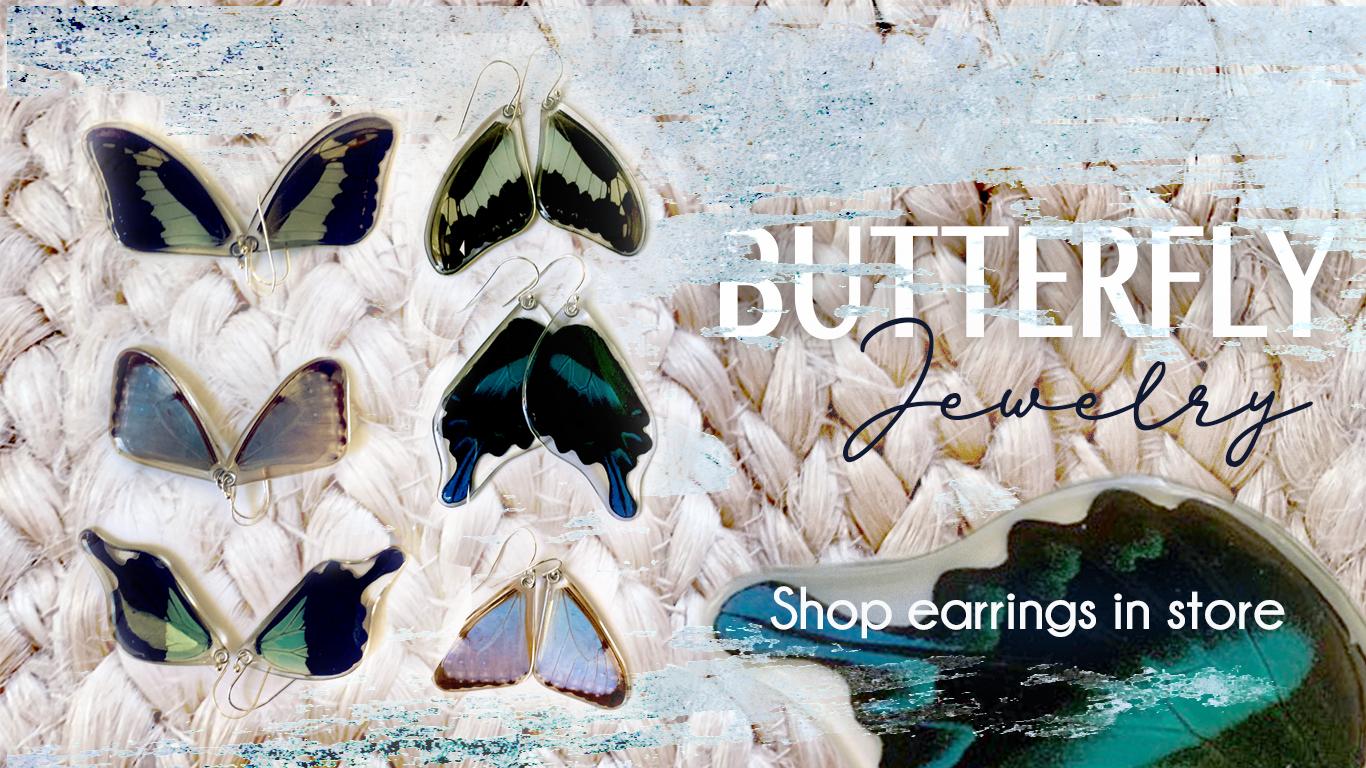 butterfly jewelry webpage