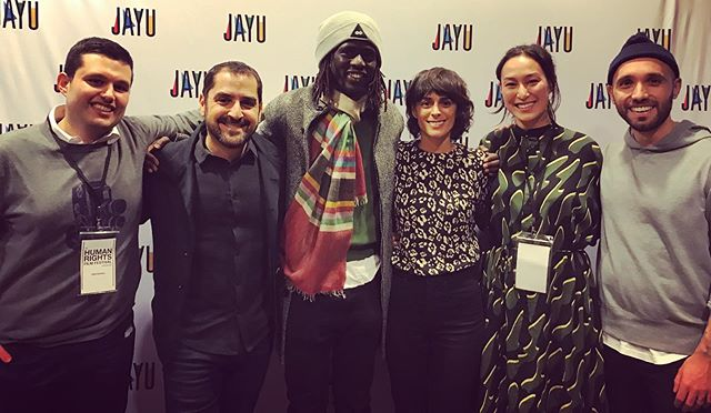 Thank you @jayucanada for a wonderful screening of The Rescue List and @emmanueljal for a thoughtful and heartfelt conversation about the film and child trafficking afterwards!