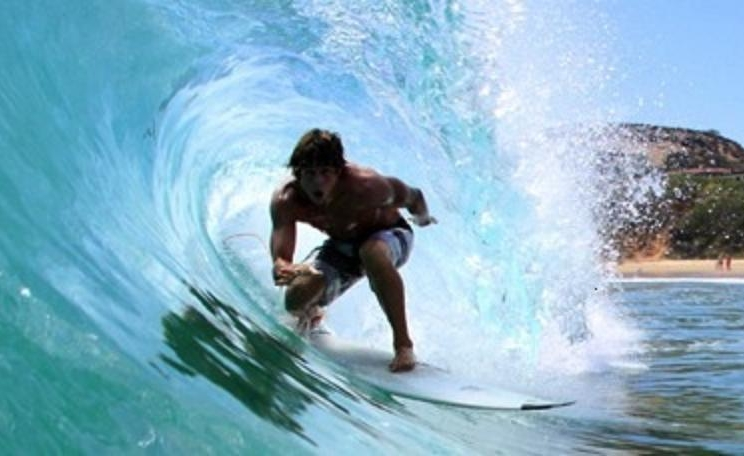 Ryah Surfing in Barrel.JPG
