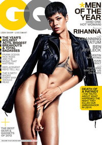 December 2012 GQ Cover - WTF: GQ's