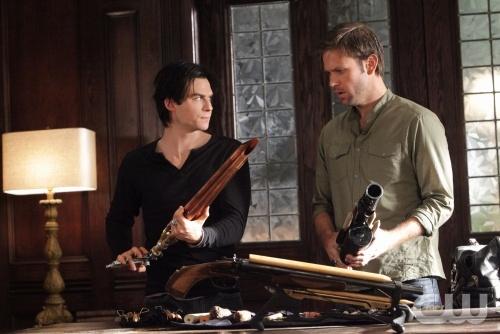 Damon Alaric The Vampire Diaries