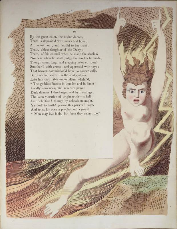 Hundreds of lost William Blake etchings discovered at a Manchester Library