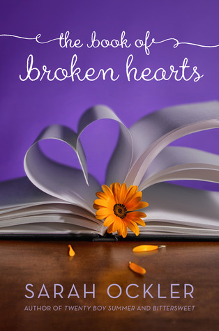 The Book of Broken Hearts by Sarah Ockler (May 2013)