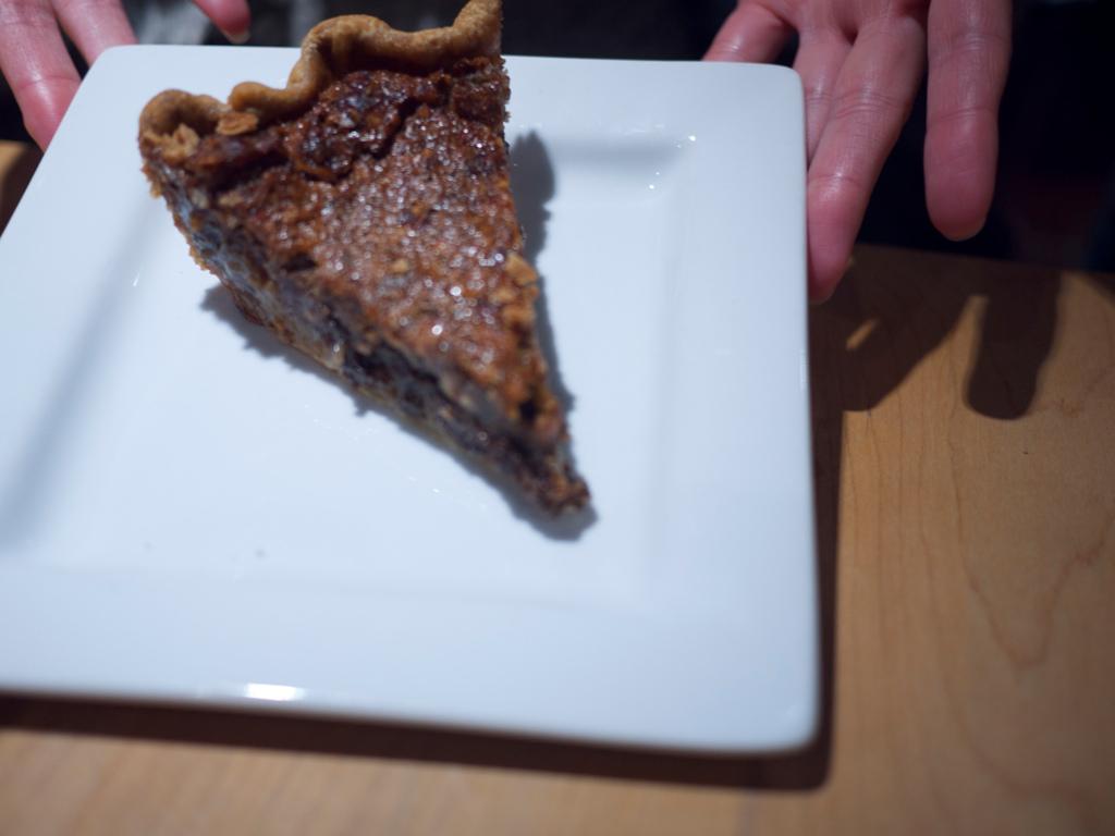 Bourbon Hazelnut Pie