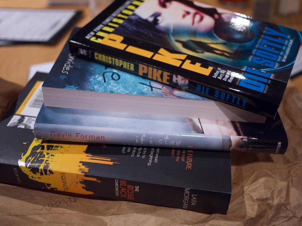 Pile of Books @ Book Club