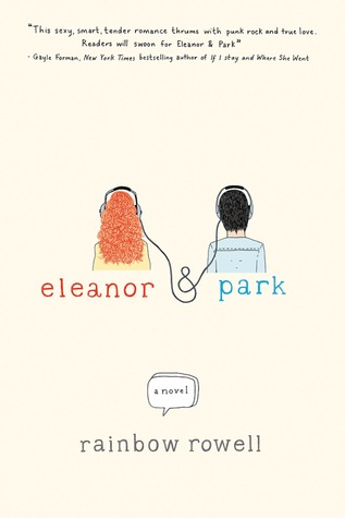 Eleanor and Park by Rainbow Rowell | Reviewed on Clear Eyes, Full Shelves | cleareyesfullshelves.com