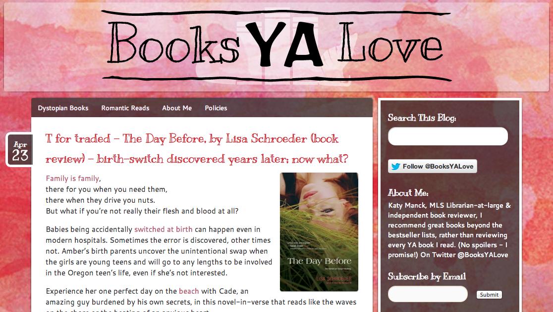 Books YA Love Celebrates Verse Week | cleareyesfullshelves.com