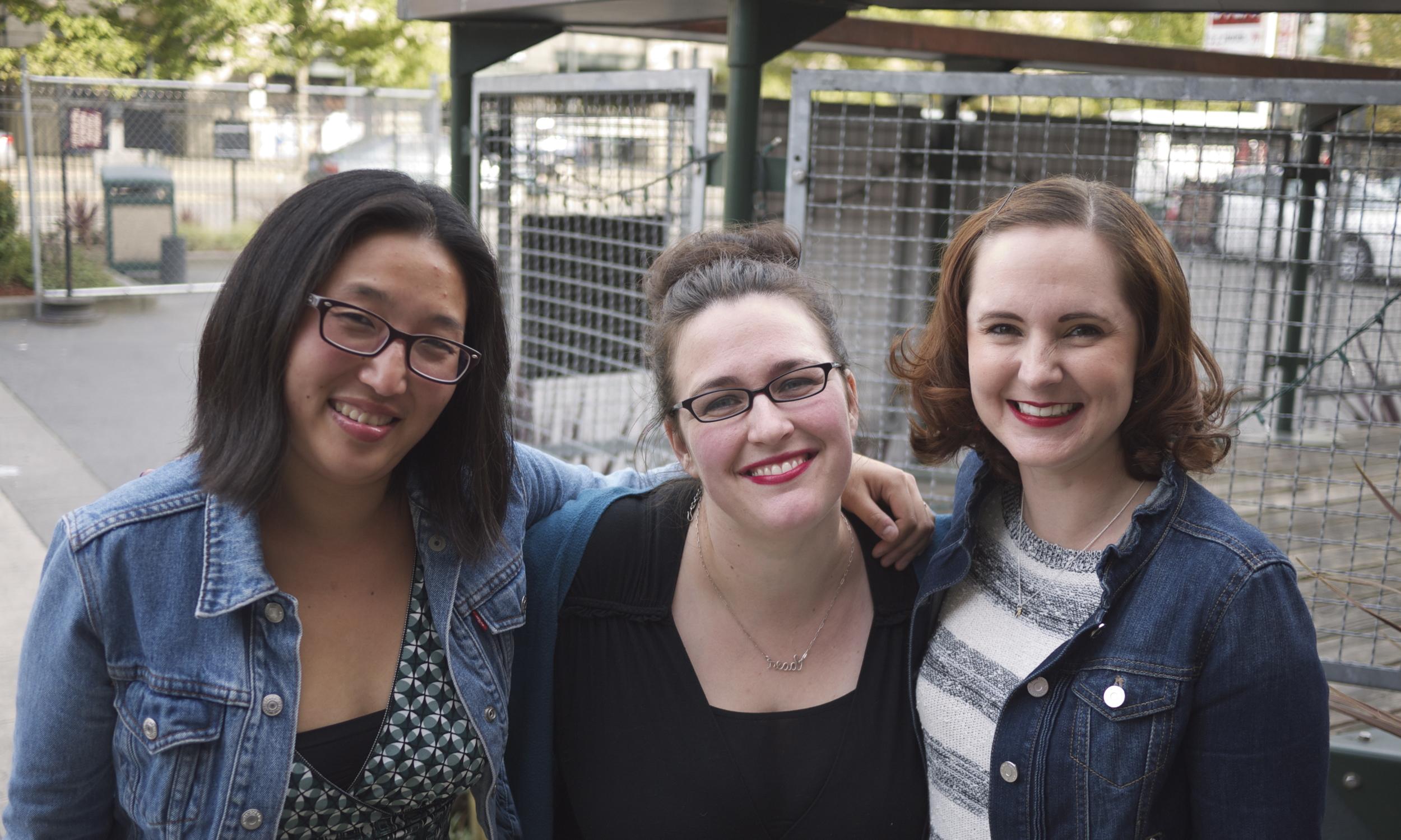 Laura, Sarah, Mindi