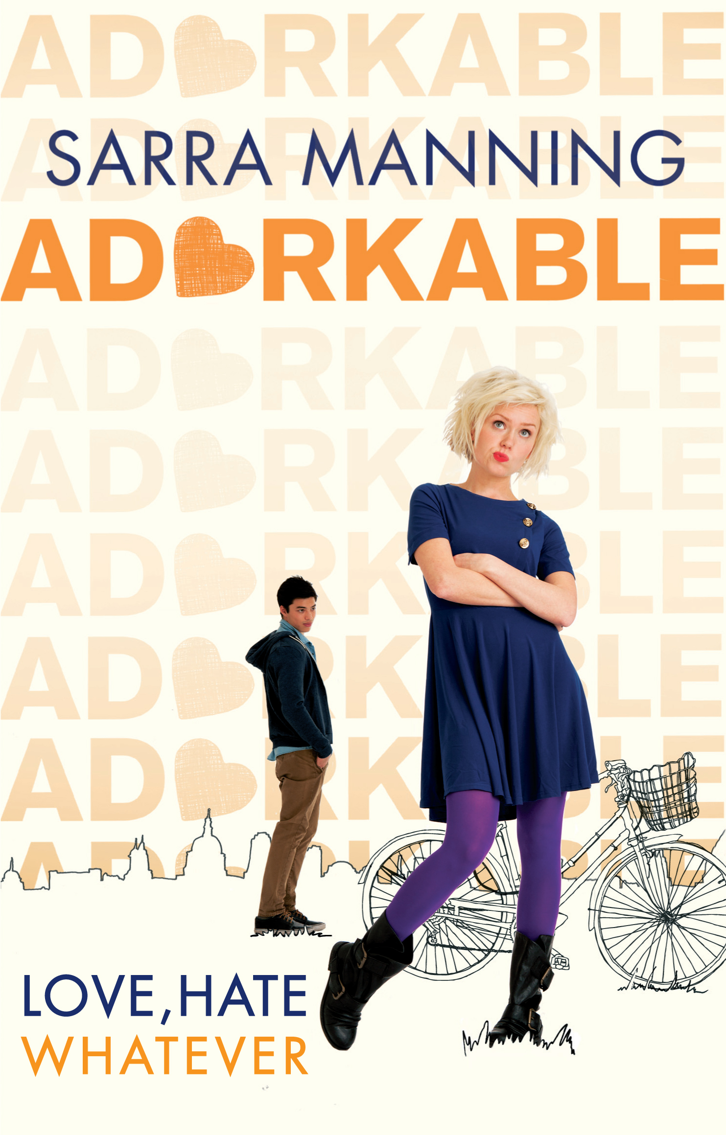 Adorkable by Sarra Manning  Amazon  |  Goodreads