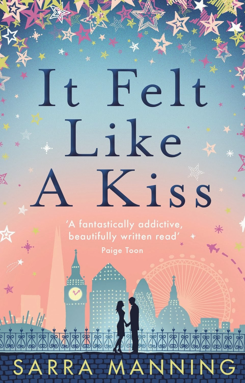 It Felt Like a Kiss by Sarra Manning  Review  |  Amazon  |  Goodreads