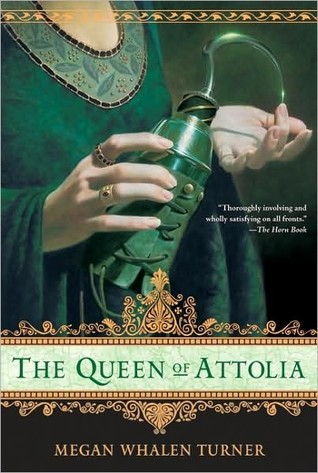 The Queen of Attolia by Megan Whalen Turner  Amazon  |  Goodreads