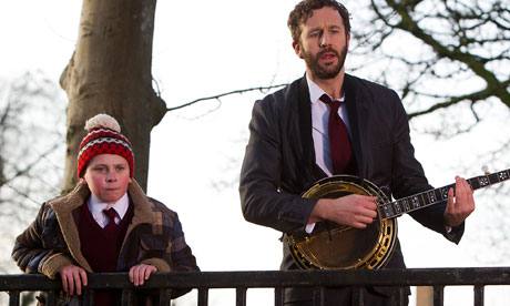 Moone Boy - Chris O'Dowd with a banjo.